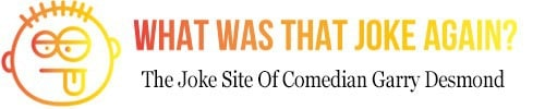 what was that joke again logo